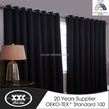 100% polyester blackout eyelet curtain