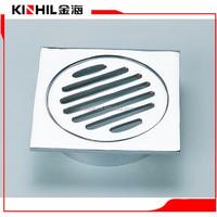 simple design decorative s trap stainless steel floor drain grate