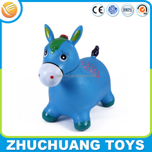cheap jumping bouncing inflatable animal horse toy for child