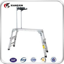 Custom Adjustable Mini Aluminum Working Platform, Car Wash Ladder