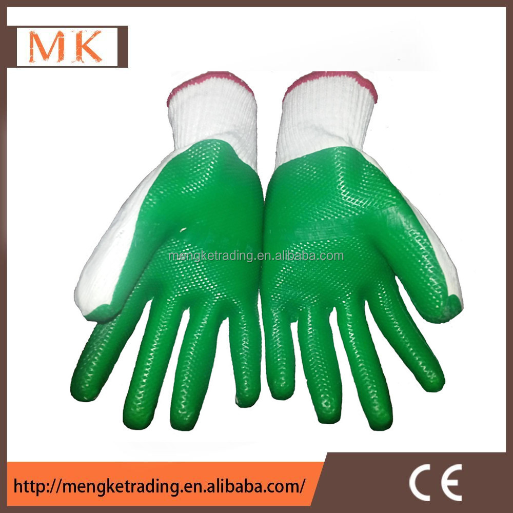 Light Industry hand gloves with solid latex coated