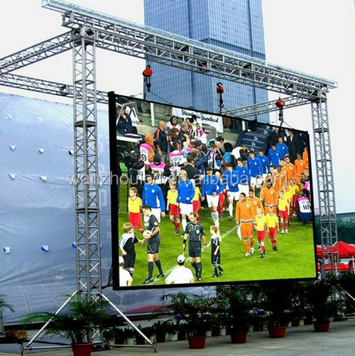 High Quality Outdoor Rental Die Casting Full Color P6 LED Screen Cabinet