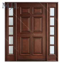 New design fire protection entry doors custom size wood frame door