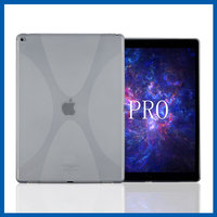 C&T Customize high quality new soft case for ipad pro plain tpu case