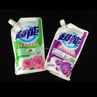 waterproof custom detergent spout pouch in guangdong china