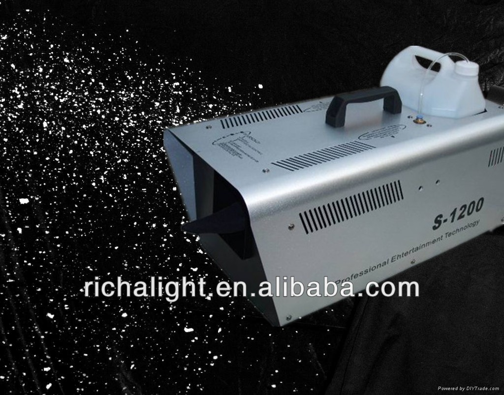 Indoor 1200W Stage Effect Snow Machine For Sale