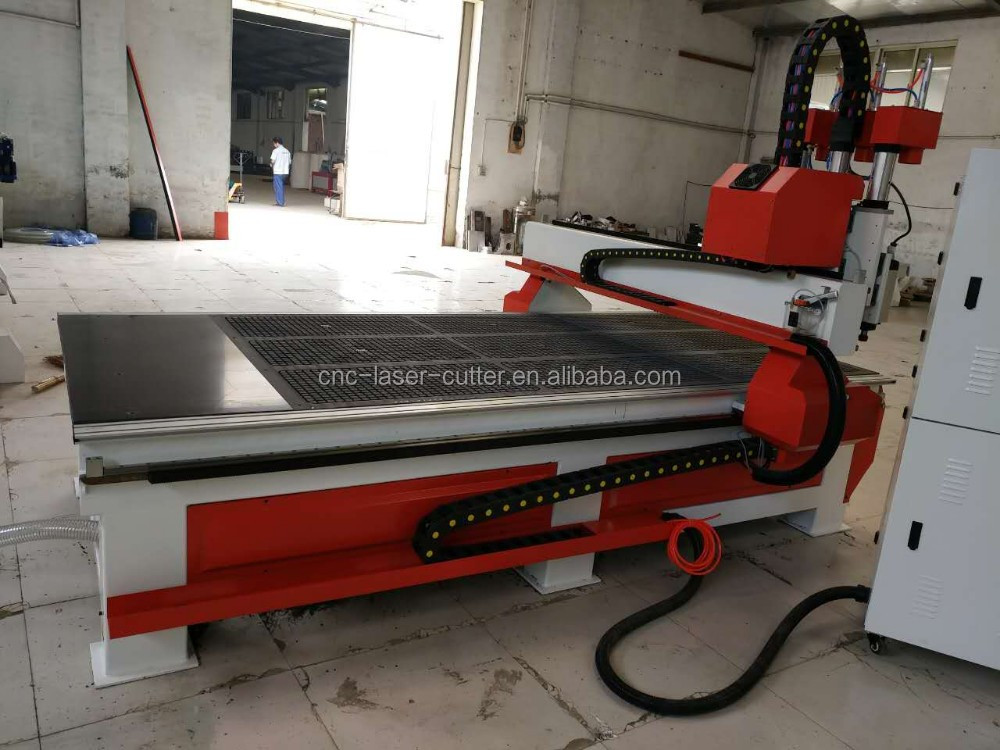 Pneumatic tool change cnc router wood door engraving machine