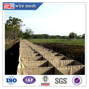 Low price! Galvanized hesco barrier / hesco baskets for sale