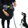 Jogging Reflective Adjustable Waist Dog Leash