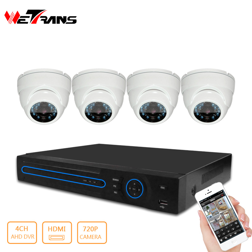 Low Price 4CH <strong>DVR</strong> and 1080P Best HD Security Analog Camera Kit System