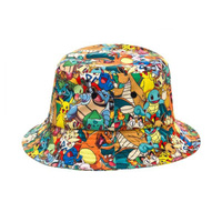 Pokemon Characters All Over Print Sublimated Bucket Hat