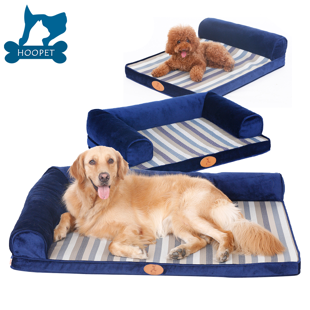 Amazon Hot Sales Ultimate Memory Foam Orthopedic Dog Bed & Lounge With Removable Waterproof