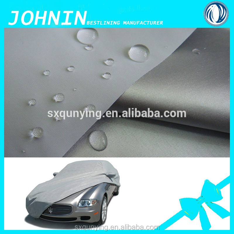 Taffeta 210t silver coated protect car Waterproof UV Protection Function polyester rain proof car cover