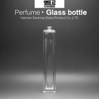 wholesale perfume bottles 100ml cosmetic glass bottle perfume made in france
