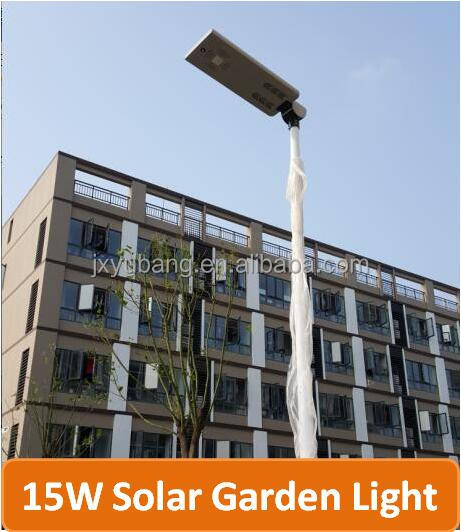 YB-SR2015A-15W All in one LED solar street light solar garden light solar lighting