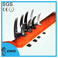 quick change metal guitar capo for guitar themed gifts