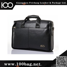 Factory price best selling branded Men Business Handbags