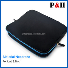 "9.7"" neoprene Hot BLACK Laptop Netbook Tablet PC Soft sleeve Bag Case Cover"