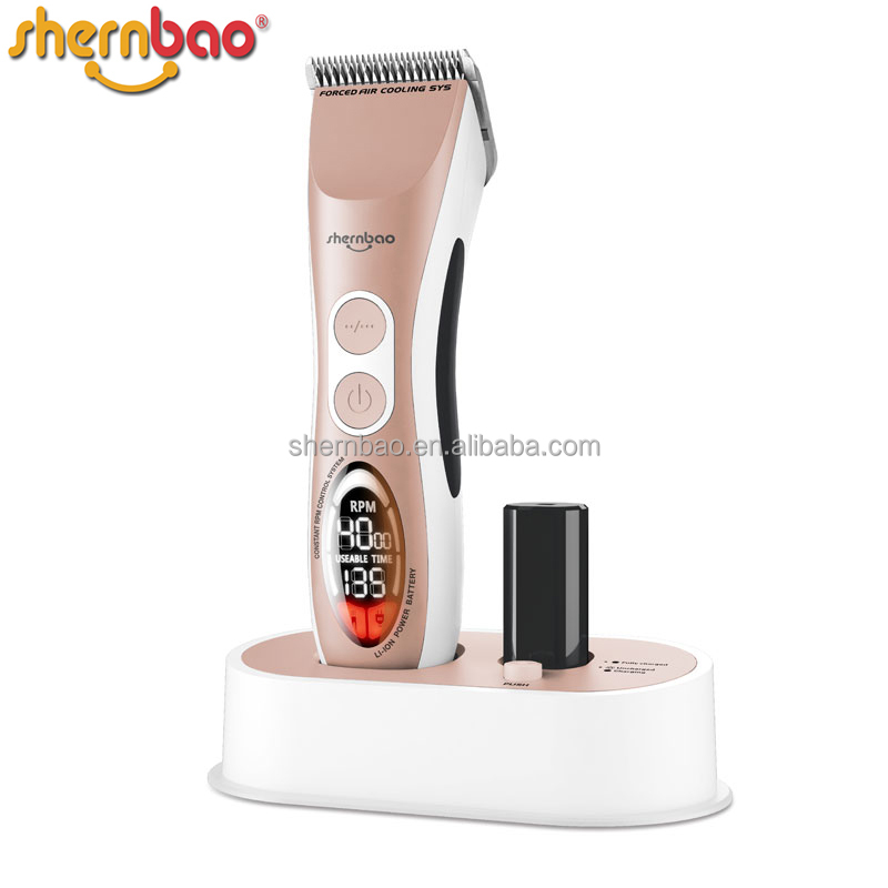 Shernbao CAC-868 gold-palladium commutator longer lifetime than traditional motors Electric animal hair clipper