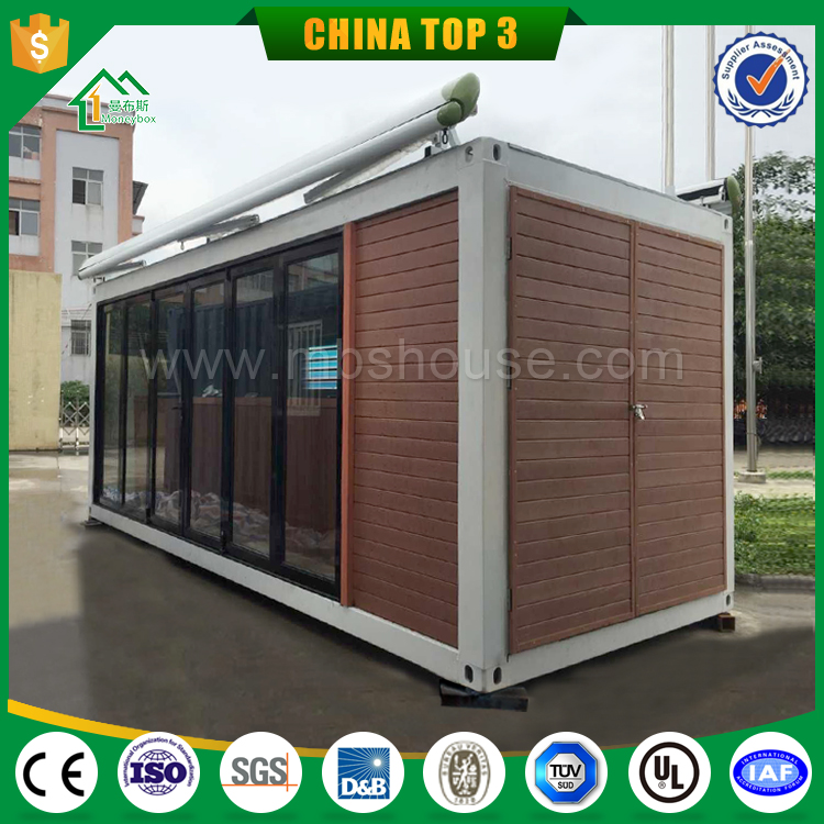 Latest Prefabricated Custom Wood Steel Frame Container Box/House For Sale