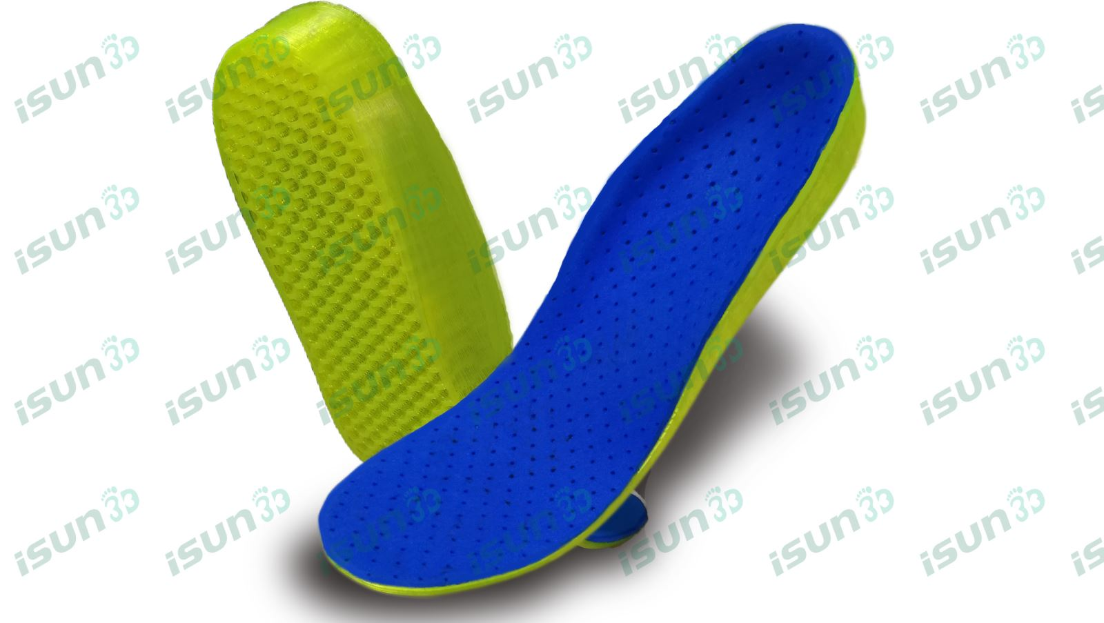 iSUN3D customized 3D Printing insole system