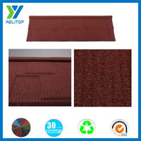 Galvanized Color Steel Roof Tile Of Shingle Type/Stone Coated Roofing