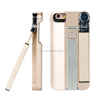 Wholesale 3 in 1 selfie stick OEM supplier extended selfie stick case for iphone 7