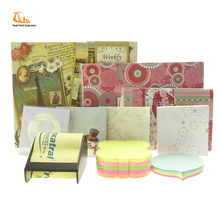 Colorful cool fashion christmas and car shape sticky notes writing pads