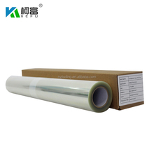 "Waterproof clear PET film for screen printing Rolls 24""/36""/ 42""/ 44""/ 50""/"