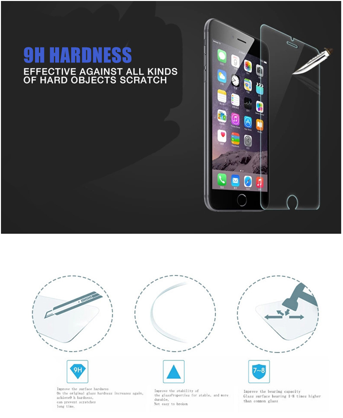 New Arrival!Anti-blue Light Tempered Glass Screen Protector For iphone 6,Anti Blue Glass Screen Protectors For iphone 6