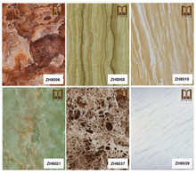 FREE sample!!! Artificial Marble UV printing 3D Wall Panel /washable wallcovering\designer home decor