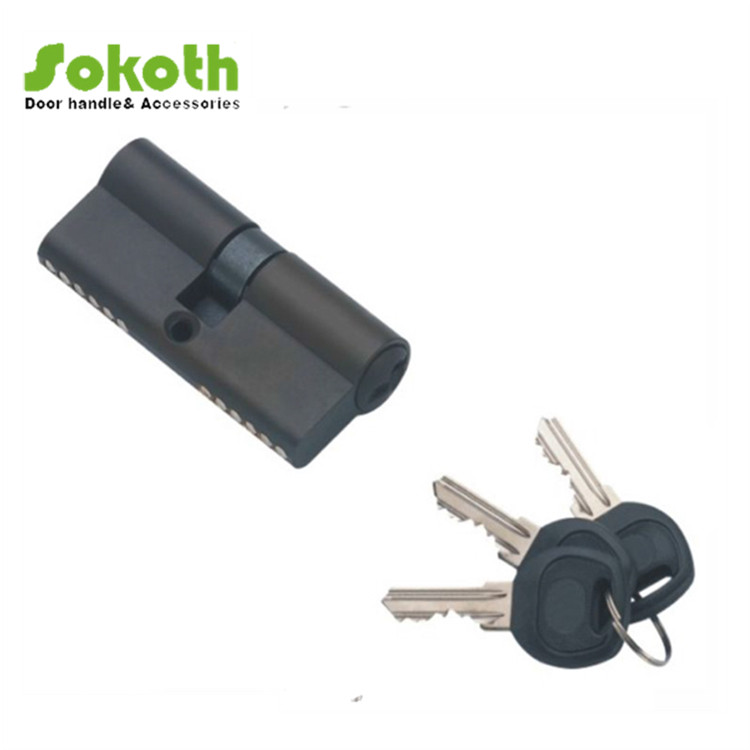 Key to key Plastic door lock cylinder popular in middle east