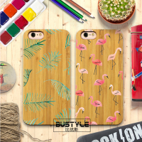 Customize bamboo wood phone case for iphone 6s case mobile cell phone for samsung galaxy s7 wood case