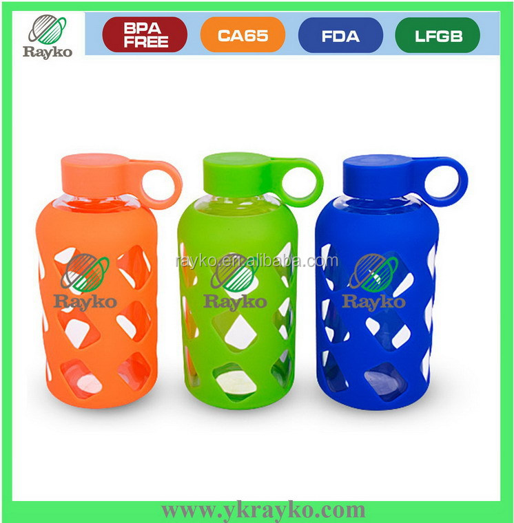Glass bottle of inflatable punching tumbler