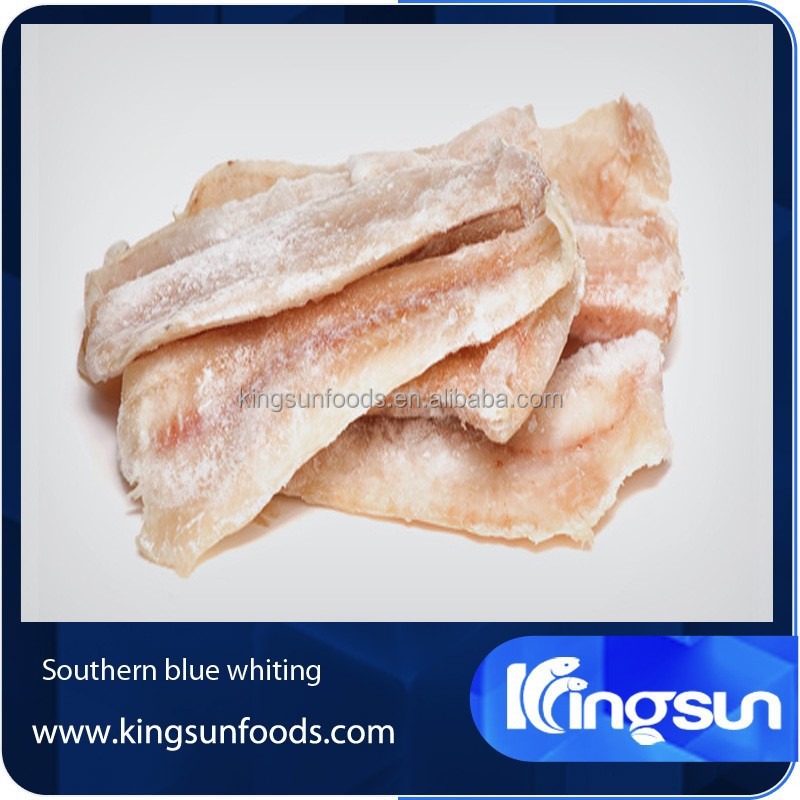 Frozen Southern Blue Whiting fillet