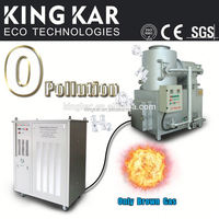 small waste incinerator with oxyhydrogen generator