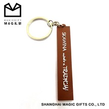 Soft PVC/rubber,rubber/silicone/fabric Material Keychains, factory Type keyrings