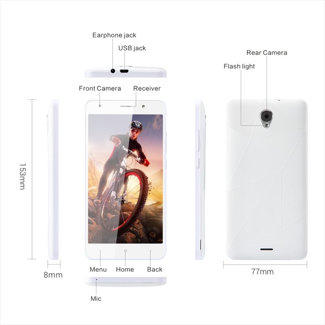 IPRO KYLIN 5.5 wholesale 5.5 inch dual whatsapp quad core chinese 3g korea cellphone 1GB+8GB