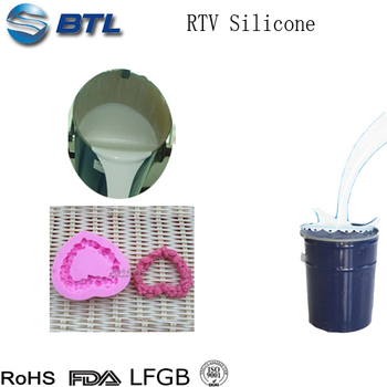RTV liquid silicone rubber to make mold for artificial crafts