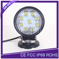 "Waterproof auto car led tuning light spot flood beam 4"" 27W tuning light"