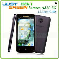2013 Latest Mobile phone Lenovo A820 Quad core Android 4.1.2 OS 4.5 inch IPS 1GB RAM Dual sim Best cell phone. Free Express!