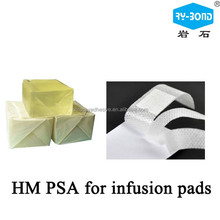 Low irritation skincare hot melt adhesive glue for infusion plaster