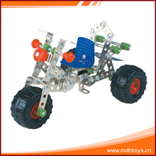 Metal assembling combination car toy educational games for adults
