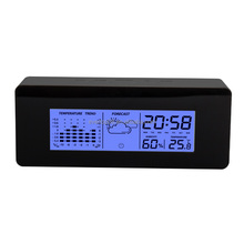 Weather station desktop table alarm clock/Promotional gift clock ET523B