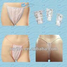 disposable women underwear tanga / T-back / thong/ G-string / brief
