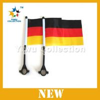 plastic car window flag poles,china bunting flag,promotional and advertising flag