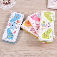 2016 china factory directly sale cute lovely plastic pvc creative multifunctional stationery pencil box case d22