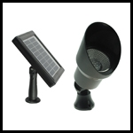 Solar Powered 2*18 LED Wall Light