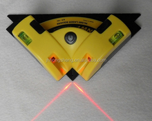 supply hight quality red laser line level right angle for floor