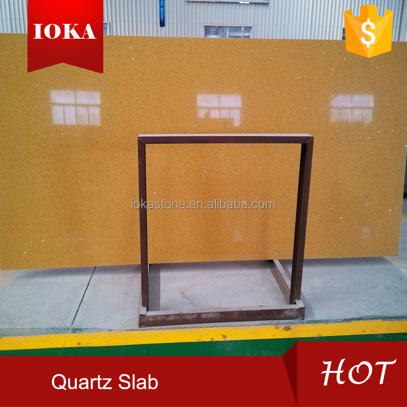 High strength corrosion resistance artificial raw quartz stone slab price